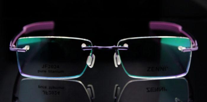 Titanium Eyeglasses Rimless (7)
