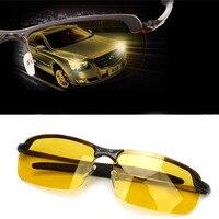 Модные солнцезащитные очки для вождения унисекс Ночное видение поляризованные очки UV400 поляризованные очки Ночное видение очки Для Мужчин'...
