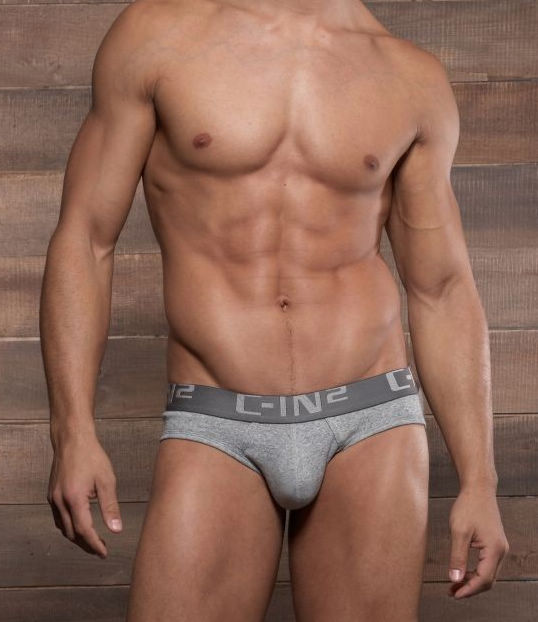 11.11 Sale New Famous Brand Soft Cotton Men's Briefs Cuecas Classic Muscle gay Men Underwear black/gray/white Fashion Brands