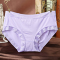 Fashion Sexy Women's Modal Underwears Modal Waist No Trace Underwear Women's Sexy Briefs Panties Girl's Underpants Knickers