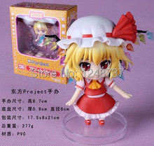 Cute 4″ high Nendoroid Touhou Project Flandre Scarlet PVC Action Figure Model Collection Toy, toys for kids