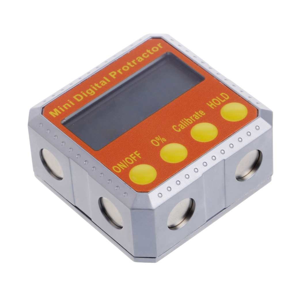 High quality 360 Digital Protractor Inclinometer Electronic Level Box Magnetic Angle Gauge цены