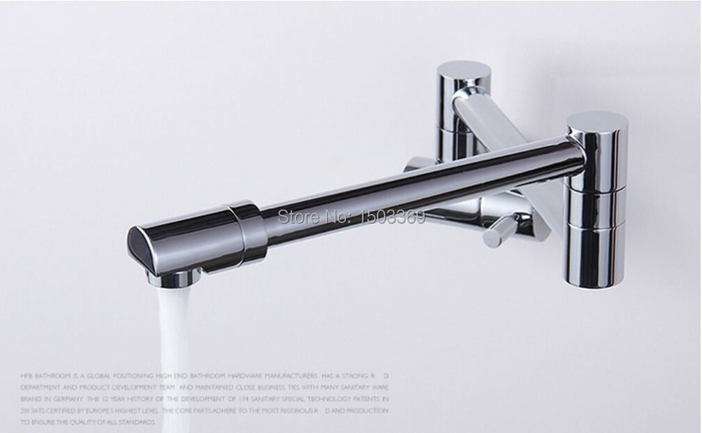 ФОТО High quality brass material rotating bathroom basin faucet corner faucet outdoor tap sink faucet