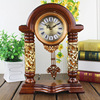 14 5 Inches Table Clock The Living Room Floor Resin Mute Watch Creative Personality Swing Clock