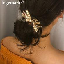 Винтажная заколка для волос ingemark массивная витая с утюгом