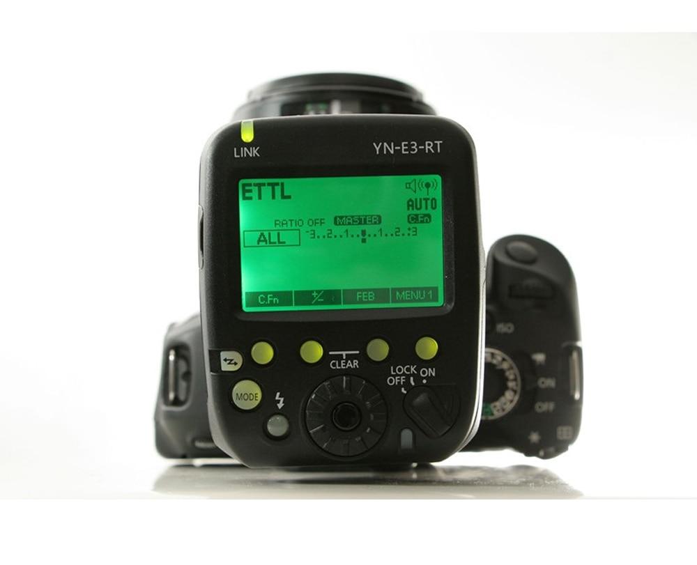 Yongnuo YN600EX-RT II TTL blesk Speedlite + YN-E3-RT řadič pro - Videokamery a fotoaparáty - Fotografie 3