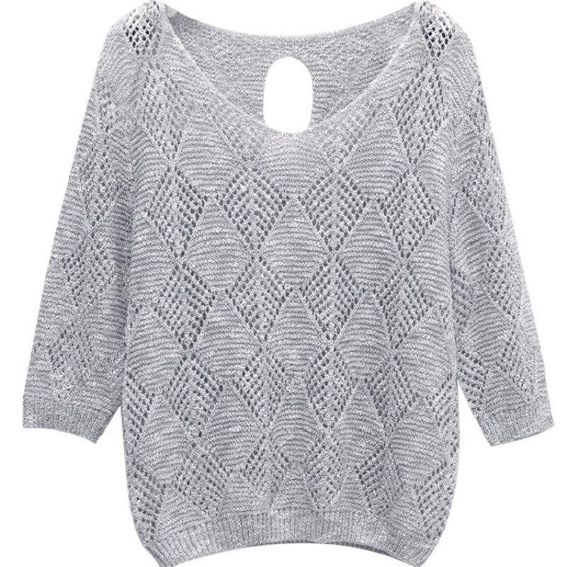 Haoduoyi Autumn Winter women's Female pullover Knit Sweater