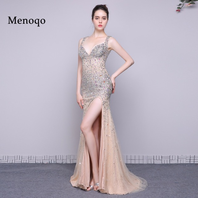 2018 robe de soiree Originality Mermaid Open back Wedding Honeymoon ...