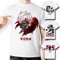 [MASCUBE] повседневный Стиль Топ Мода Марка Японский Аниме футболка Токио Вурдалака T-Shirt Печатные Футболки Мужчины Женщины Топ Прохладный Дизайн Tee