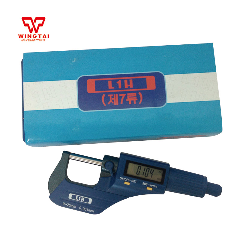 0.001mm Digital Outside Micrometer Electronic Micrometer Caliper Gauge Meter 0-25mm Micrometers цены