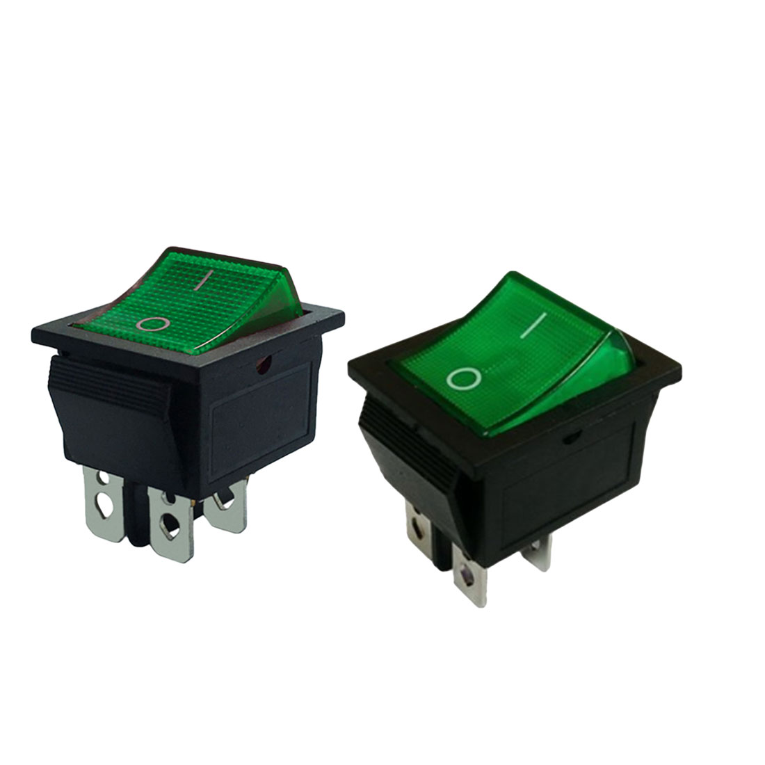 Logical 10a/220v Ac Green Red 1pcs Promotion Light 4 Pin Dpst On/off Snap In Boat Rocker Switch To Ensure A Like-New Appearance Indefinably Lighting Accessories Lights & Lighting