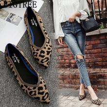 """Женская обувь с леопардовым принтом; женская обувь на плоской подошве женская обувь на толстой резиновой подошве; лоферы; ботинки """"Харадзюку"""" Женщина ; мокасины на платформе casuales mujer sapato feminino; большие размеры"""