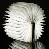 Chic Folding LED Nightlight Creative LED Book Light Lamp Best Home Novelty Decorative USB Rechargeable Lamps