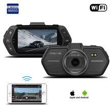 Car DVR DVRs Registrator Dash Camera Cam Digital Video Recorder Camcorder 1080P Night Version 96655 IMX 323 2.7inch Black Box Wi