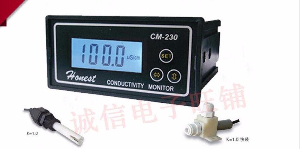 New verison CM 230 4 20mA Conductivity Meter Conductivity Conductivity Tester Monitor Pure water meter monitor