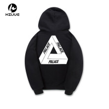 2017 Spring New Palace Hoodies Men Women 100% Cotton Palace Skateboards Thick Flocking P Sweatshirt Palace Hooded Jacket Men