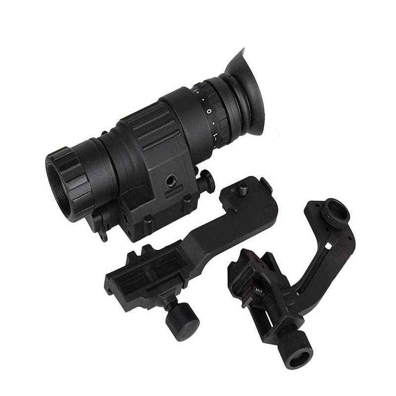 Tactical Night Vision Scope Monocular Sight PVS14 night vision Digital Riflescope For Air Rifle or Helmet Hunting Shooting