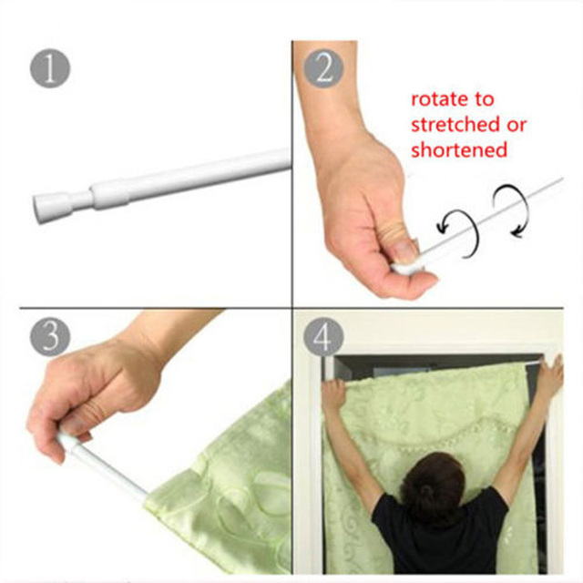 Lowest Price Newest!! 70 120cm Spring Loaded Extending Shower ...