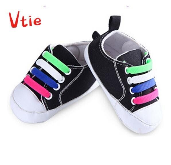 1 Set/12 Uds. Zapatos elásticos de silicona para niños cordones impermeables todas las zapatillas se ajustan a cordones de zapatos de correa para los primeros caminantes cordones de zapatos de bebé Carcasa para llave de coche compatible con Fiat 500 Panda Punto Bravo 3 botones Fob 1 pieza de material plástico