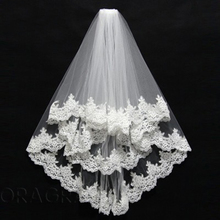 Doragrace Wedding Veil Two Layers Tulle White Ivory Bridal Bride Accessories Short Women Veils With Comb