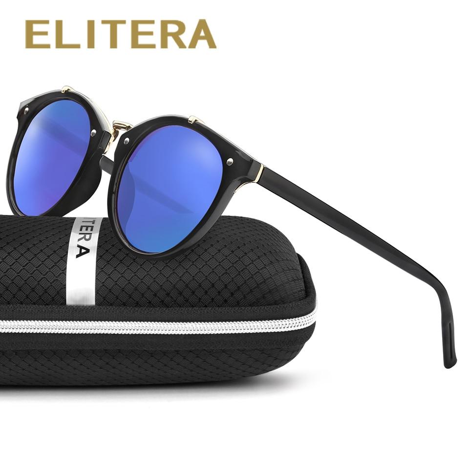 ELITERA saulesbrilles sievietes vintage retro apaļas saulesbrilles sieviešu zīmola dizainers saulesbrilles unisex jaunas lentes de sol masculino