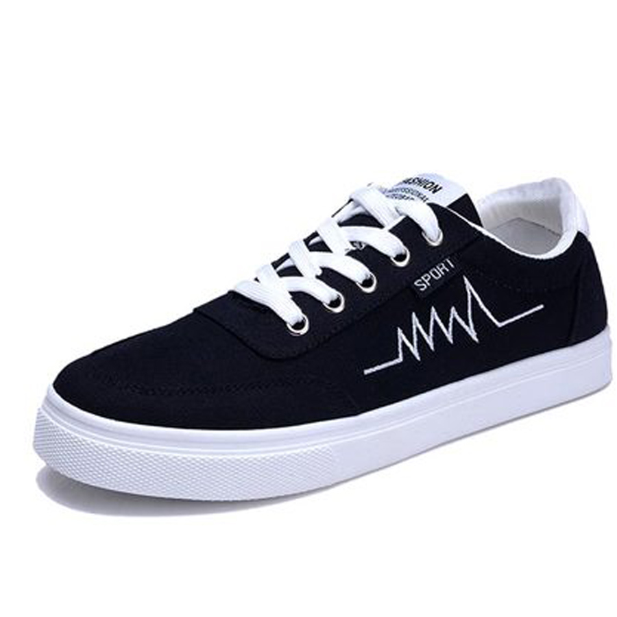 Skate shoes online shop - Spring Autumn Hot Men Breathable Shoes Korean Summer Wear Resisting Casual Shoes Casual Fashion Students