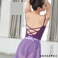 Ballet Leotard For Women High Quality Cotton Ballet Dancing Costume Professional Adult Gymnastics Leotard