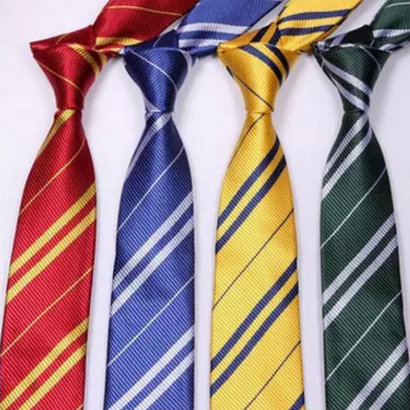 4 Color Harri Potter Gryffindor Series Tie Clothing Accessories Borboleta Necktie College Style Tie  Gift Costume Accessory