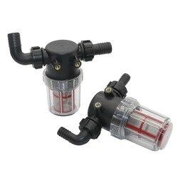 20mm 25mm 50 malha de aço inoxidável grande fluxo visível filtro transparente tubo de água pré-filtro jardim irrigação agricultura ferramenta