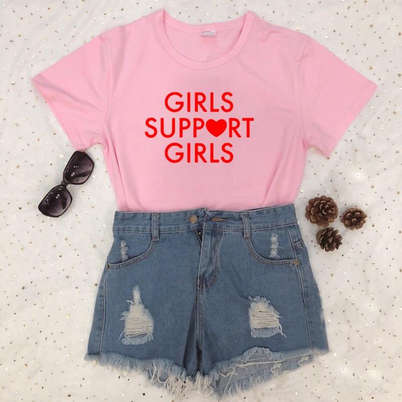 mejor lugar nueva productos calientes comprar original € 7.05 28% de DESCUENTO|Camiseta con estampado de letras rojas para chicas,  camiseta Rosa gris blanca y negra para mujer, camisetas sexis y divertidas  ...