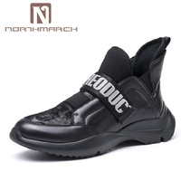 NORTHMARCH Brand Designer Men's Shoes British Style Breathable Lightweight Men Shoes Outdoor Walking Men Trainers Shoes