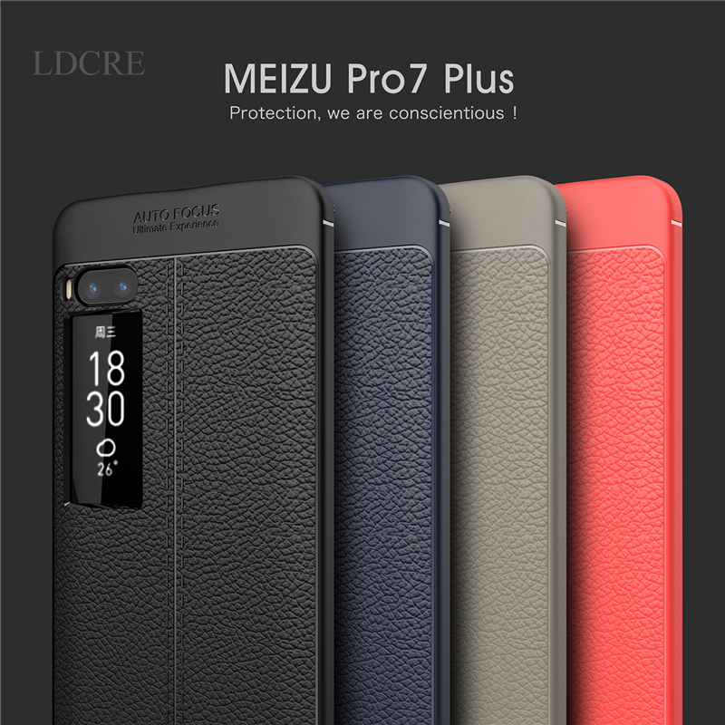 Meizu Pro7 Plus Case Cover For Meizu Pro7 Plus Soft Case Protective TPU Silicone Coque Fundas Phone Cover Case Meizu Pro 7 Plus
