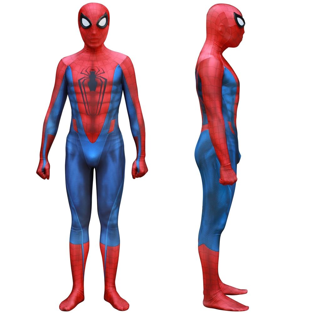 Adult Kids Captain America: Civil War Spider Man Cosplay Costume Zentai Spiderman Superhero Bodysuit Suit Jumpsuits