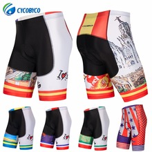 Cycobyco Men 4D Padded Cycling Shorts Shockproof MTB Bicycle Road Bike Ropa  Ciclismo Tights Spain 1f8b6254e43a