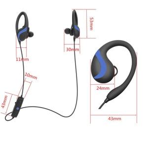Image 4 - QAIXAG sans fil suspendu oreille sport Bluetooth casque CSR8645 véritable stéréo téléphone mobile accessoires pour téléphones mobiles avec Bluet