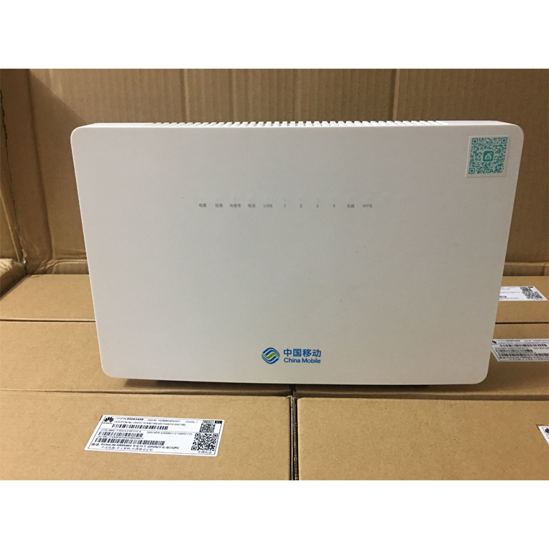 100% Original New Hua Wei HS8546V GPON ONU ONT With 4GE+1Post+USB+Dual WiFI Apply To FTTH Modes, Termina Gpon English Version