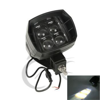 35W LED Work Light High Beam OffRoad For Harley Suzuki kawasaki Yamaha Honda  Ford Jeep Chevrolet Motorcycle