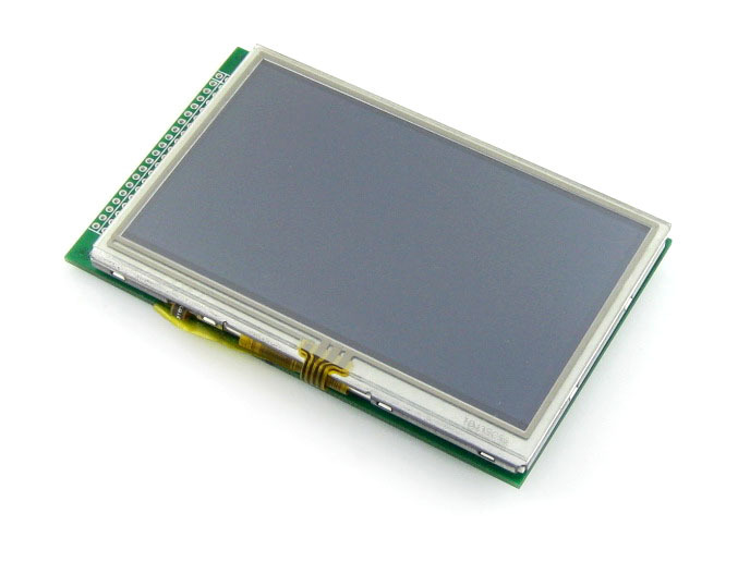 Parts 5pcs/lot 4.3inch 480x272 Touch LCD (A) 40pin cable LCM TFT Display Touch Screen Module Graphic LCD Display Module