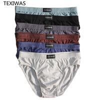 4pcs/lot 100% Cotton 4XL/5XL/6XL Men's Breathable Panties 1
