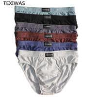 Calzoncillos de algodón para hombre, ropa interior de talla grande, transpirable, 4XL/5XL/6XL, 4 unidades por lote