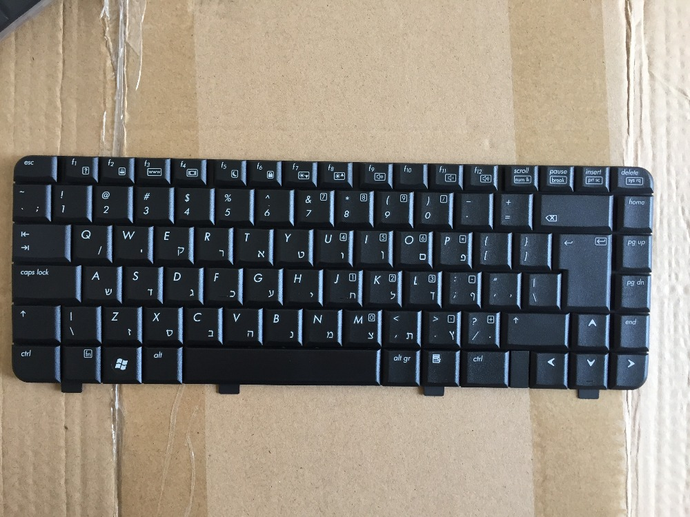 New keyboard for HP CQ40 CQ41 510 CQ45 516 511 515 6520S 541 HB/HEBREW AR/ARABIC CZ/CZECH GK/GREEK HG/HUNGARIAN JPlayout