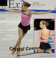 Ice Figure Skating Dress For Kids Fashion New Brand Figure Skating Dress For Competition DR3538