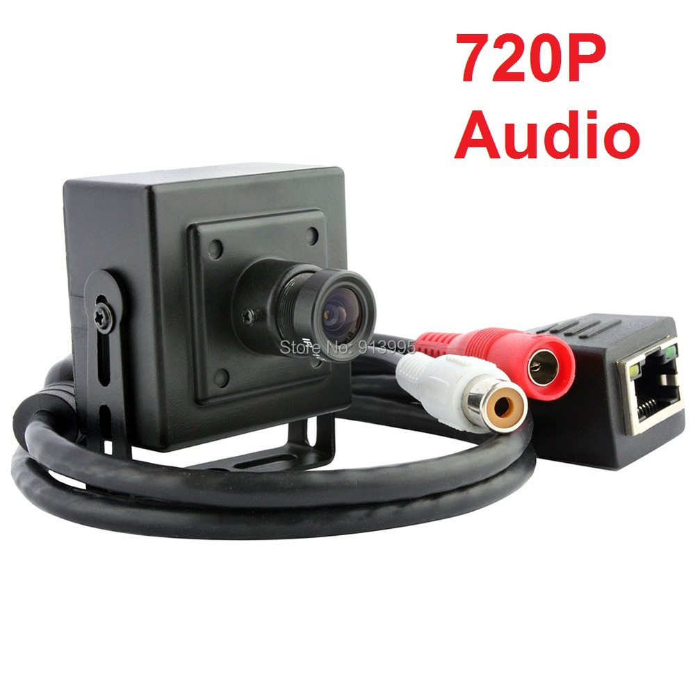 ФОТО 1.0 megapixel 720P HD onvif 2.0  H.264 P2P mini ip camera mobile phone remote view  mini ip camera audio