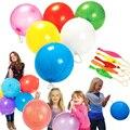 Multicolor Grandes 50 pcs Borracha Soco Balões de 15 polegadas Crianças Brinquedos Clássicos de Casamento Fontes do Partido de Aniversário Flutuante Kid Brinquedos Presente