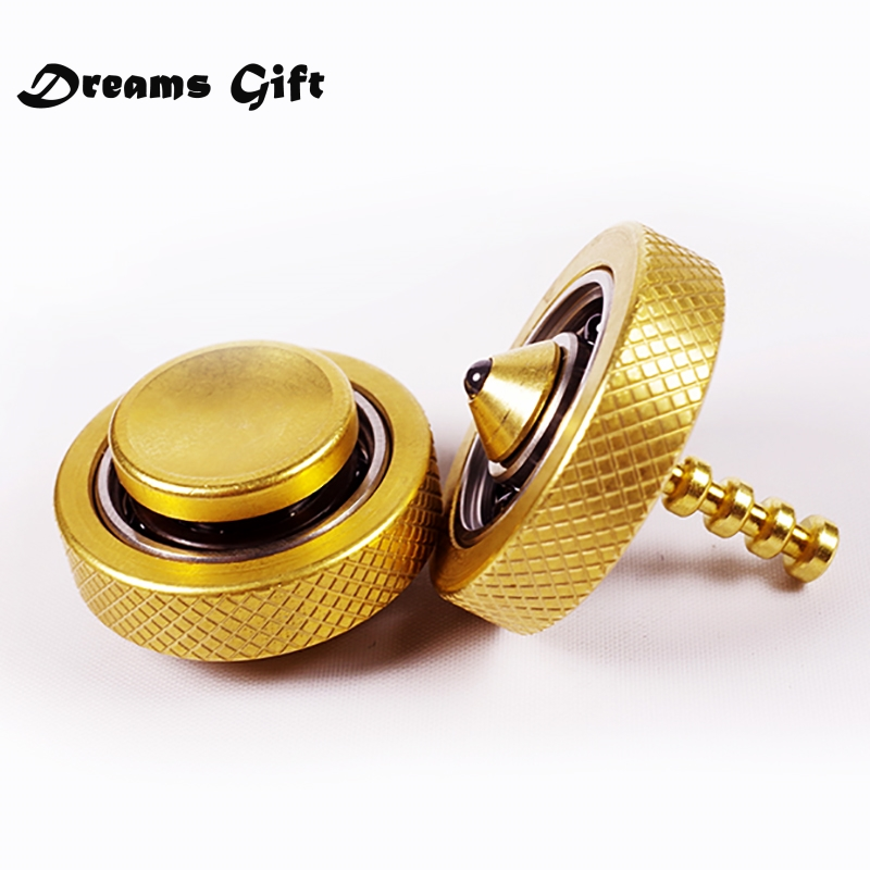 купить New Gyro Fidget Spinner Hand Spinner Finger Spinner Metal Pure Copper Brass EDC Ceramic Bearings Handspinner Toys SL532 по цене 2502.99 рублей
