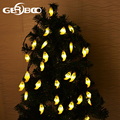 Outdoor Halloween Holiday Decorations Waterproof Ghost Solar String Lights 20 LED Decorative Lighting for Garden Patio Home