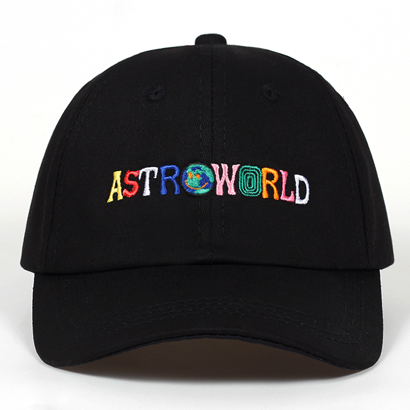 100% Cotton ASTROWORLD Baseball Caps Travis Scott Unisex Astroworld Dad Hat Cap High Quality Embroidery Man Women Summer Hat
