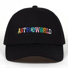 100% Cotton ASTROWORLD Baseball Caps Travis Scott Unisex Astroworld Dad Hat  Cap High Quality Embroidery 60f2b851a1d