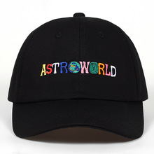 28f2b366b3b73 100% Cotton ASTROWORLD Baseball Caps Travis Scott Unisex Astroworld Dad Hat  Cap High Quality Embroidery · 4 Colors Available