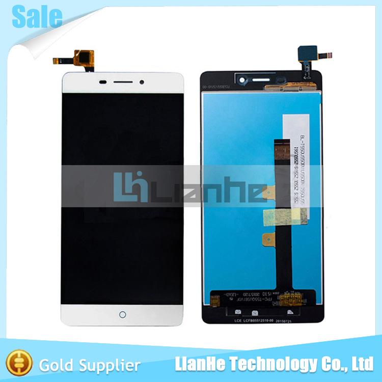 Black White For ZTE BLADE X9 LCD Display Touch Screen Original Digitizer Sensor Assembly 5 5